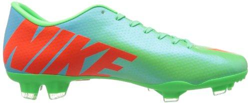 Mercurial Victory IV FG - Chaussures de Foot Pourpre Fireberry/Vert Electrique
