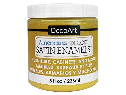 - DecoArt DECADSA-36.8 Decor Satin Enamels Honeygld Americana Decor Satin Enamels 8oz Honeygld