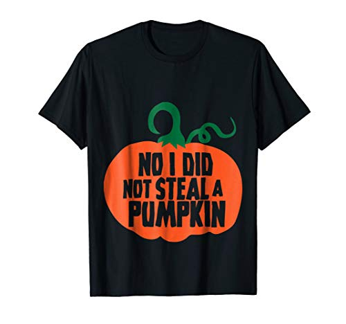 Pumpkin Belly Halloween Pregnant Costume Funny Shirt ()