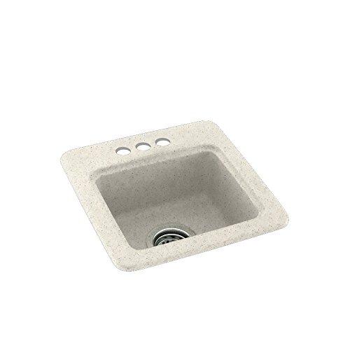 Swan VT01931.168 Ellipse Solid Surface Single-Bowl Vanity Top 31 L x 19 H x 7.25 H