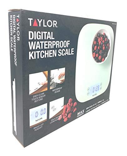 Taylor Digital Waterproof Kitchen Scale