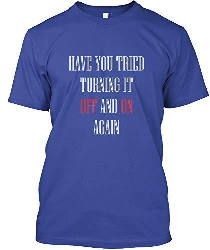 (Remote Control Tshirt 3XL - Deep Royal Tshirt - Hanes Tagless Tee)