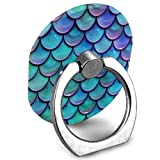 xbox 360 blue ring of light - Phone Stand Mermaid Scales Blue Ring Phone Holder Adjustable 360 Degree Rotation Finger Grip Holder for IPad, Kindle, Phone X/6/6s/7/8/8 Plus/7, Galaxy S9/S9 Plus/S8/S7 Android Smartphone