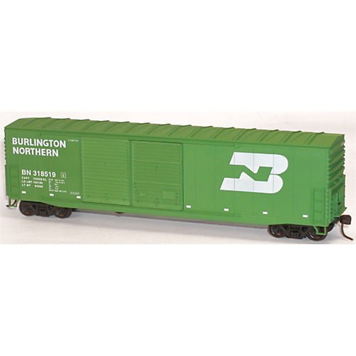 (Accurail 5915 BN 50' Double Door Welded Box HO Kit)