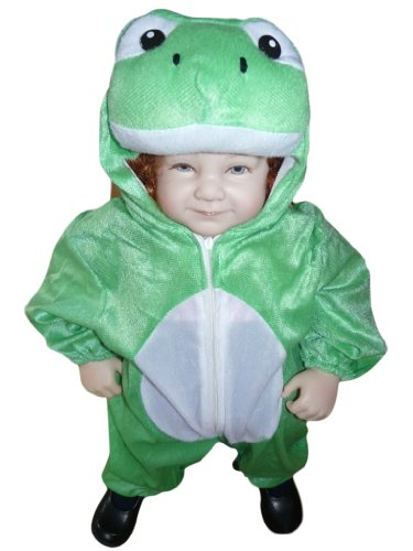 Halloween Costumes From Old Dance Costumes (Fantasy World Frog Halloween Costume f. Toddlers/Boys/Girls, Size: 2t, J01)