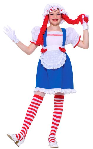 Girls Ragdoll Costumes (Girls Ragdoll Costume - Child Medium by Unknown)