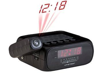 Amazon.com: HIP Street hs-crp329 Proyección Radio reloj con ...