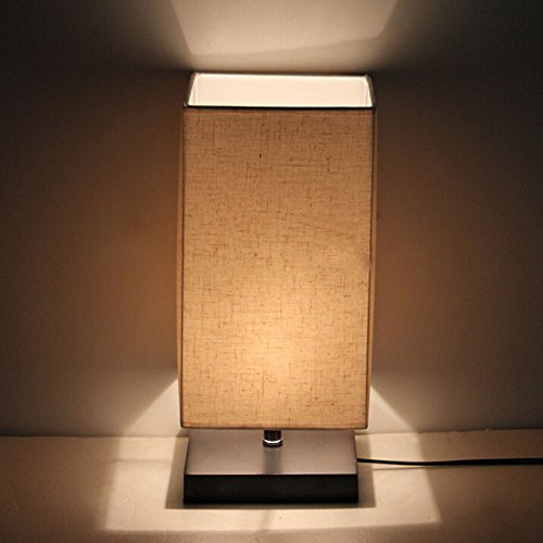 Minimalist Solid Wood Table Lamp Bedside Desk Lamp - Buy ...