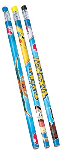 12 Count Pokemon Pencils