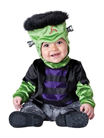 InCharacter Costumes Baby's Monster-Boo Costume, Black/Green, X-Small