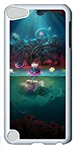 iPod Touch 5 Cases & Covers - The Lotus Pond Infants Custom PC Soft Case Cover Protector for iPod Touch 5 - White