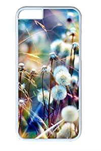 Colorful Dandelion Slim Hard Cover for iPhone 6 Case (4.7 inch) PC Transparent Cases