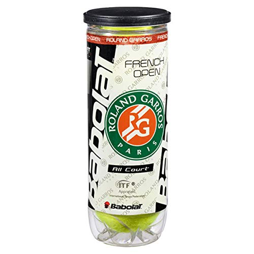 (BABOLAT B501021 French Open All Court Roland Garros Tennis Ball Can)
