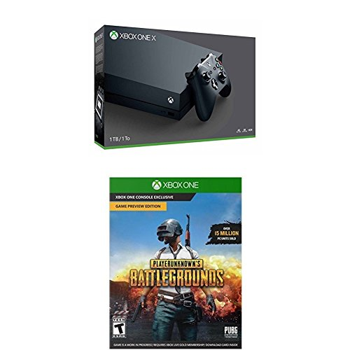 Xbox One X Console – PLAYERUNKNOWN'S BATTLEGROUNDS Bundle