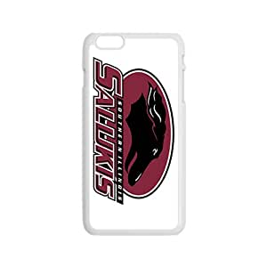 NCAA South Carolina Gamecocks Mascot 0 White Phone Case for iPhone 6