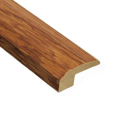 Home Legend Oak Gunstock 9/16 in. Thick x 2-1/8 in. Wide x 78 in. Length Hardwood Carpet Reducer Molding