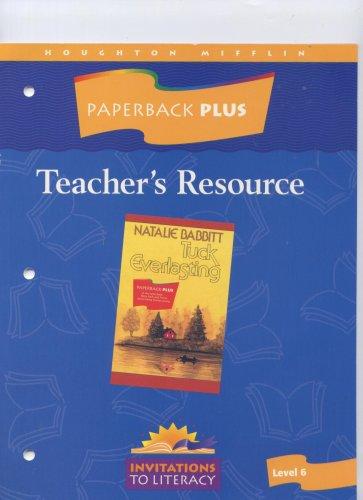 Paperback Plus Teacher's Resource Guided Reading Tuck Everlasting (Invitations t