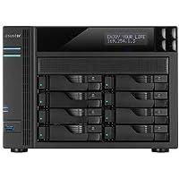 ASUSTOR AS7008T Intel i3 3.5GHz/ 2GB DDR3/ 2GbE/ 2eSATA/ USB3.0/ 8-bay NAS Server