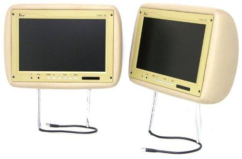 Tview T110pl 11.2-Inch Headrests Car Monitors (Beige)