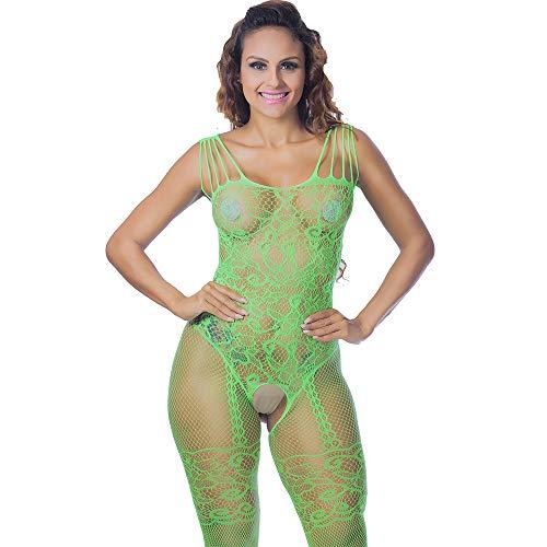Moda Green Especias Arco Piel Ropa Tentación Navidad Mujeres Dormir Interior Cinturón Babydoll Larga Traje Mullido Vpass Camisón Sexy De p8S1q