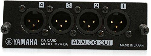 Yamaha MY4-DA 4-Channel Analog Output Card by Yamaha