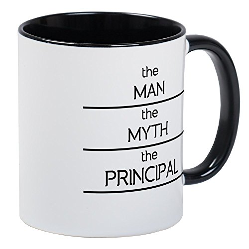 CafePress The Man The Myth The Principal Mugs Unique Coffee Mug, Coffee Cup
