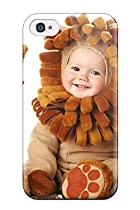 Pauline F. Martinez's Shop New Style High Quality Baby Using Lion Costume Pictures Case For Iphone 4/4s / Perfect Case