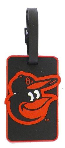 aminco Baltimore Orioles - MLB Soft Luggage Bag Tag,black by aminco
