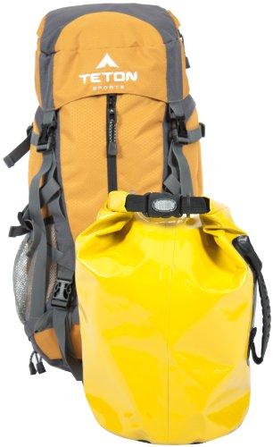 TETON Sports Canyon 2100 Canyoneering Internal Frame Backpack (25.5″x 13″x 11.5″, Orange), Outdoor Stuffs