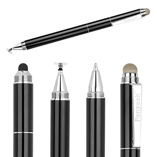 Capacitive Stylus Pen with Ballpoint Pen Writing ,Penyeah...