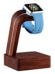 Navitech Apple Watch Wood Oak Charging Dock / Station / Platform