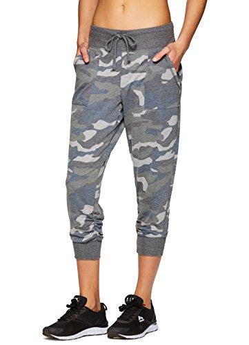 RBX Active Women's Camo Print Jogger Sweatpant L