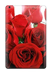 New Style 1979775J14091876 Snap On Case Cover Skin For Ipad Mini 2(lovely Red Roses)