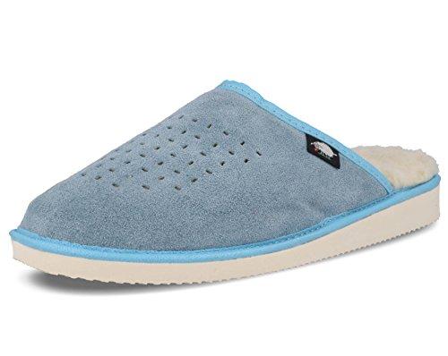Ecoslippers Bleu pour Bleu Ecoslippers femme Chaussons pour Chaussons femme rtrw8
