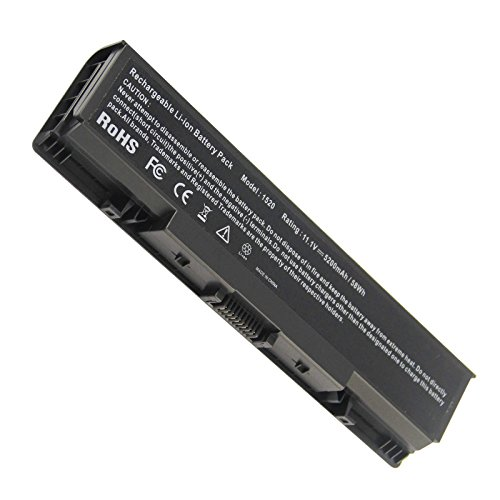 Fancy Buying New Laptop Battery for Dell Inspiron 1521 1520 1721 pp22l pp22x ; Dell Vostro 1500 1700, fits P/N FK890 FP282 GK476 GK479 - 12 Months Warranty (6 Cells - Replacement 1520