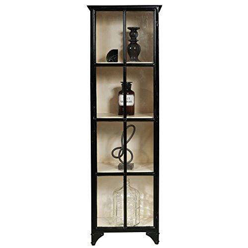 - Pulaski Sunset 4 Shelf Display Cabinet in Black