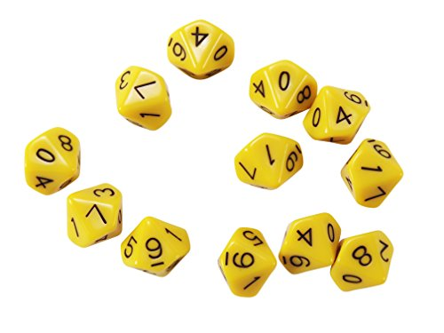 10-Sided Polyhedra Dice