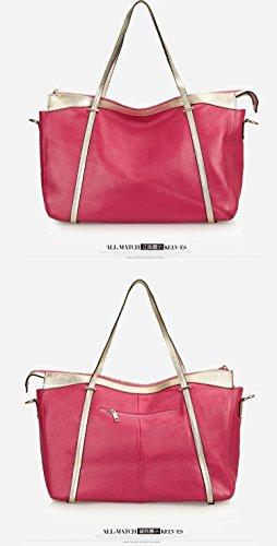 Negro rojo Bolso Eomjnexw Rosa rosa 8755752075715 qgnFTnzwxX