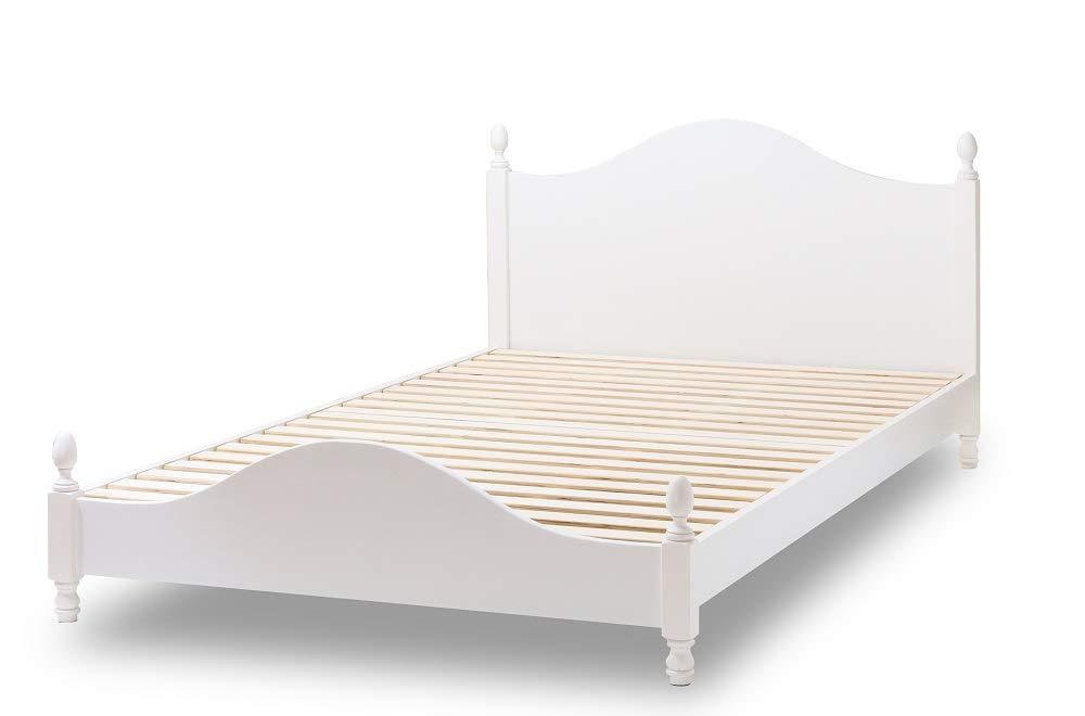 姫系ベッド ドレシー フレームのみ (セミダブルサイズ) B01BSH60ZM  セミダブルサイズ
