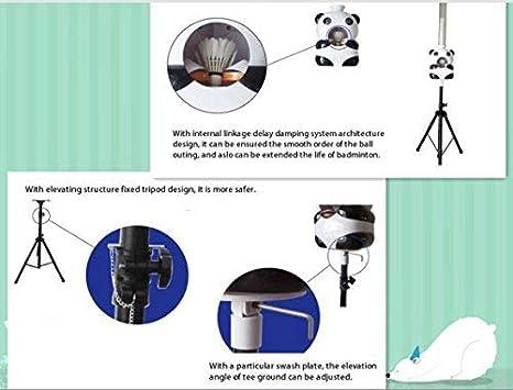 Amazon.com : BAOSHISHAN Automatic Badminton Shuttlecock Training Machine Badminton Robot Serving Machine Badminton Shooting Machine : Sports & Outdoors