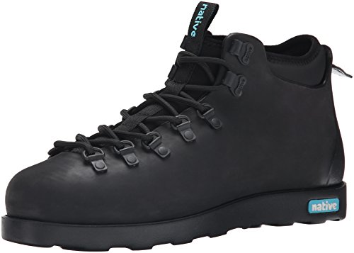 Native Men's Fitzsimmons Winter Boot, Jiffy Black/Jiffy Black, 12 M US