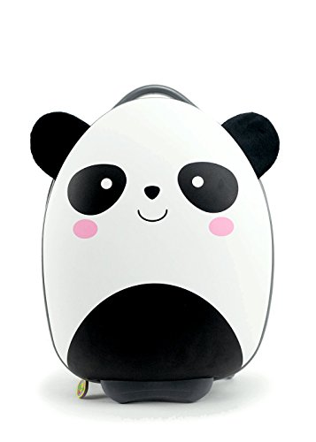 Bb Bag (BB Bag: Cute Animal Travel Trolley Luggage for Kids - PANDA)