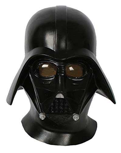 Darth Vader Helmet Deluxe Latex Cosplay Updated Full Head Black Adult Props Mask