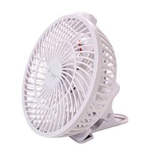 E-joy® 7-Inch Clip On Fan USB Powered Desktop Cooling Fan Combo 360 Degree Rotatable Desk Clip Fan Personal Fan (Clip On Cooling Fan compare prices)