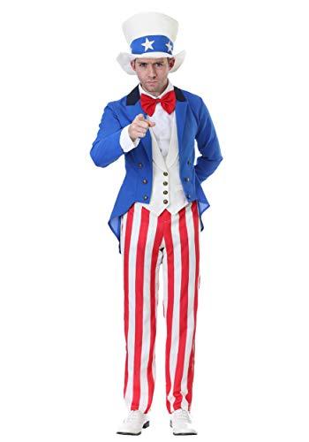 Classic Uncle Sam Costume Medium