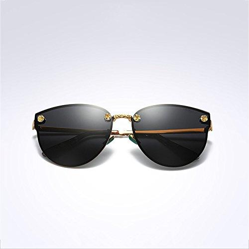 Gafas Marco Conducción De Libre Gafas Al Gafas Aire Gafas Metal Diamante De De Visión Nocturna Sol Polarizadas Deporte De Gafas De De Sol Gafas De Nuevas SEEKSUNG® De A8vzqx1