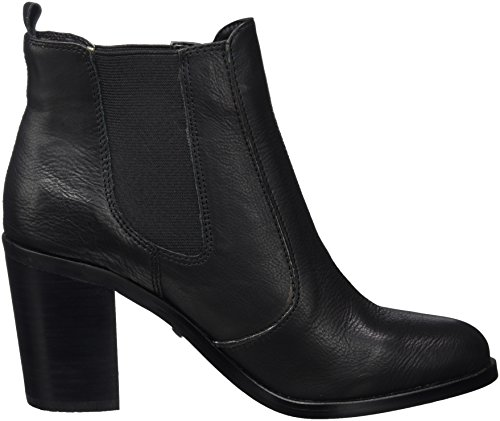 Buffalo 7044 416 para Negro London Indios Leather Black Botas 01 Chelsea Mujer rBqrxwA