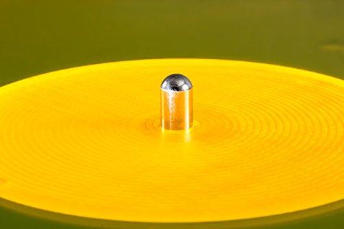 Acrylic Turntable Mat | YellowLit | LP Slipmat