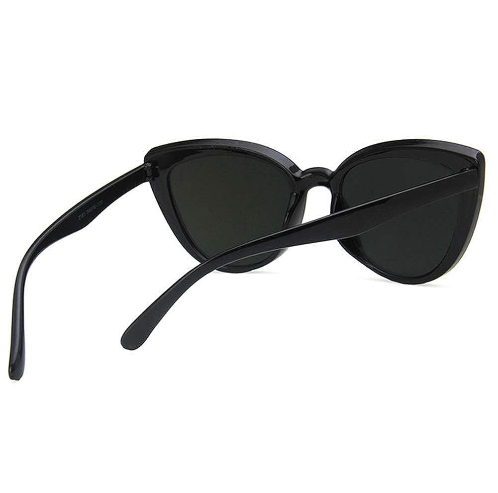 Unisex Sunglasses Retro Bright Black Pink Drive Holiday Oval Non-Polarized UV400