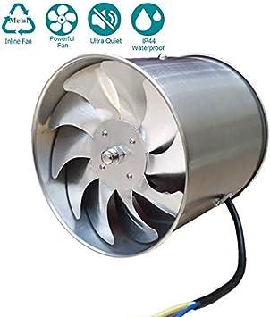 Knoijijuo Extractores 145mm silencioso de Baja energía de baño Cocina de Escape Alambres la ventilación del Metal Extracción del Motor de Cobre